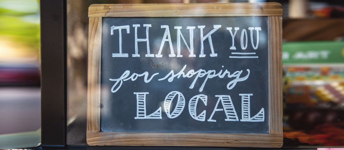Why should you shop local?